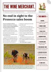 the wine merchant issue 24 front page