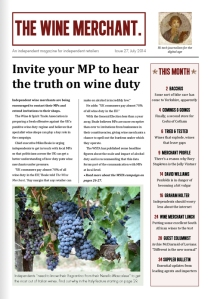 The Wine Merchant issue 27 page 1