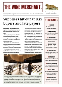 The Wine Merchant issue 29 p1