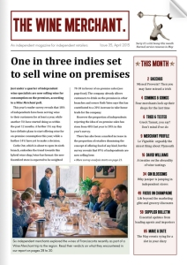 The Wine Merchant issue 35 page 1