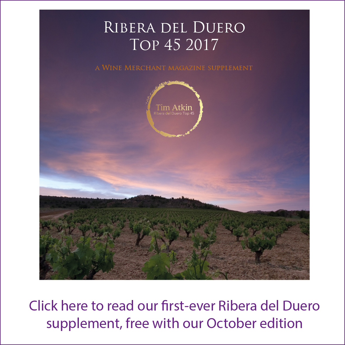 The Wine Merchant Ribera del Duero Supplement 2017