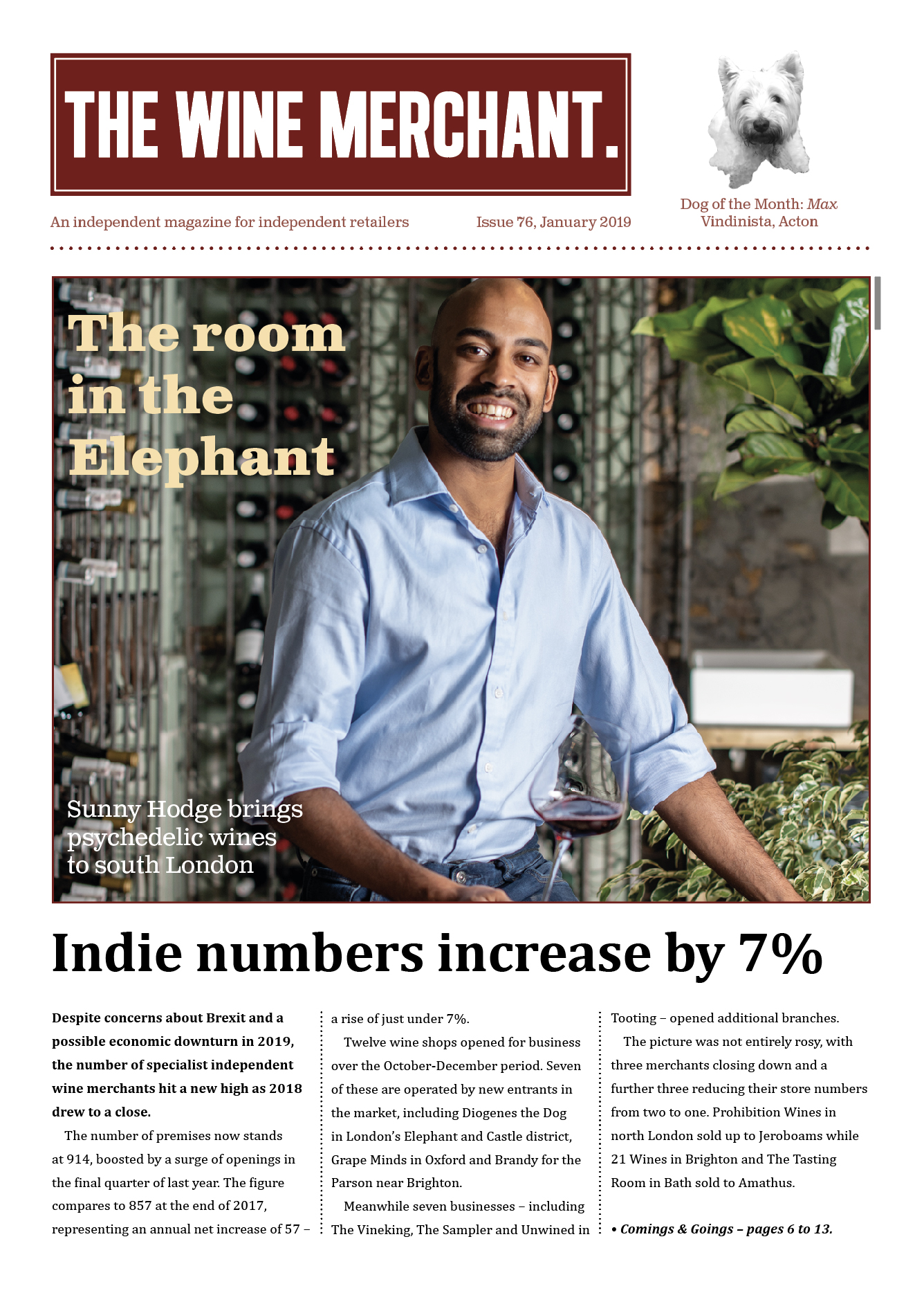 The Wine Merchant January 2019
