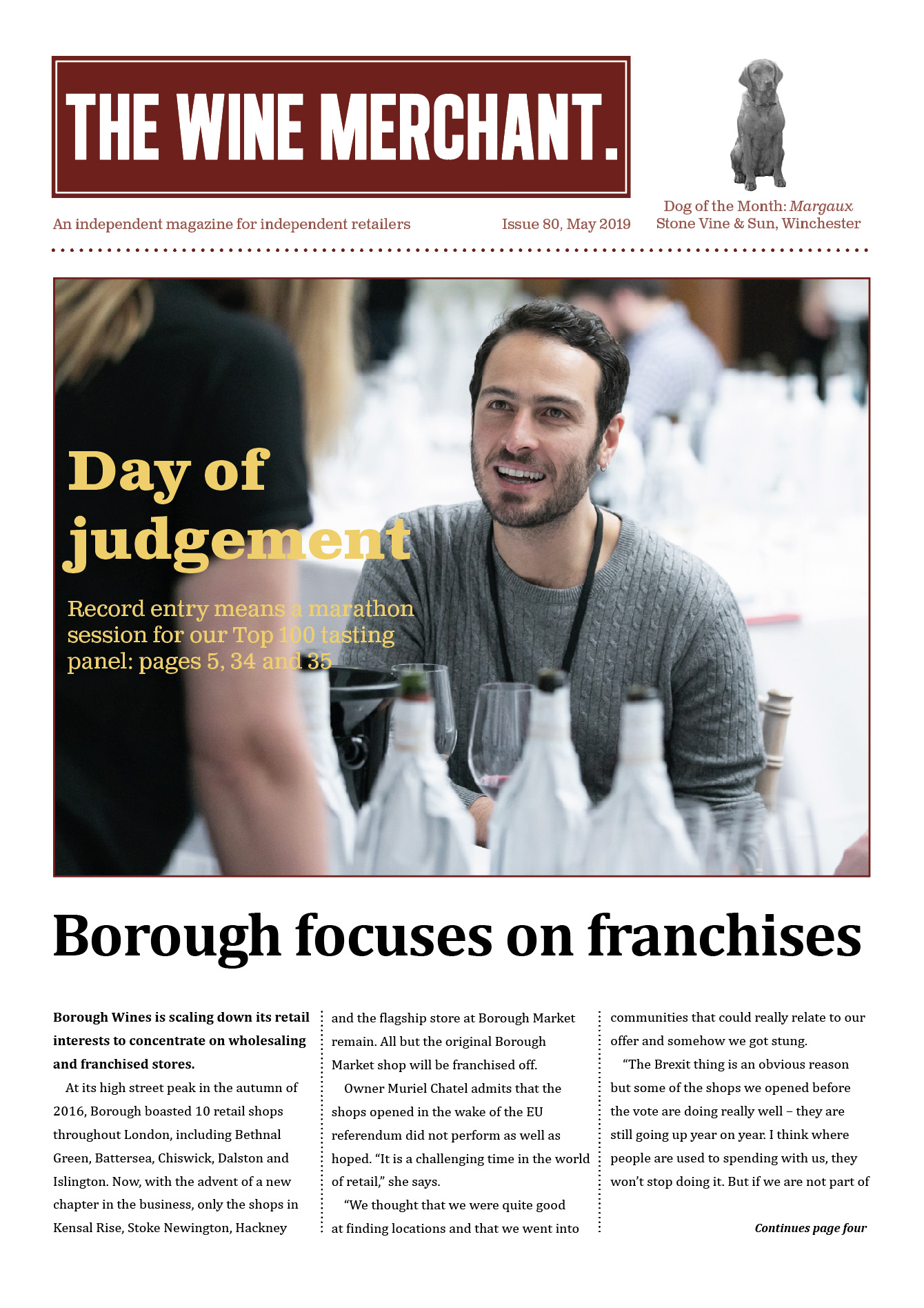 The Wine Merchant April 2019