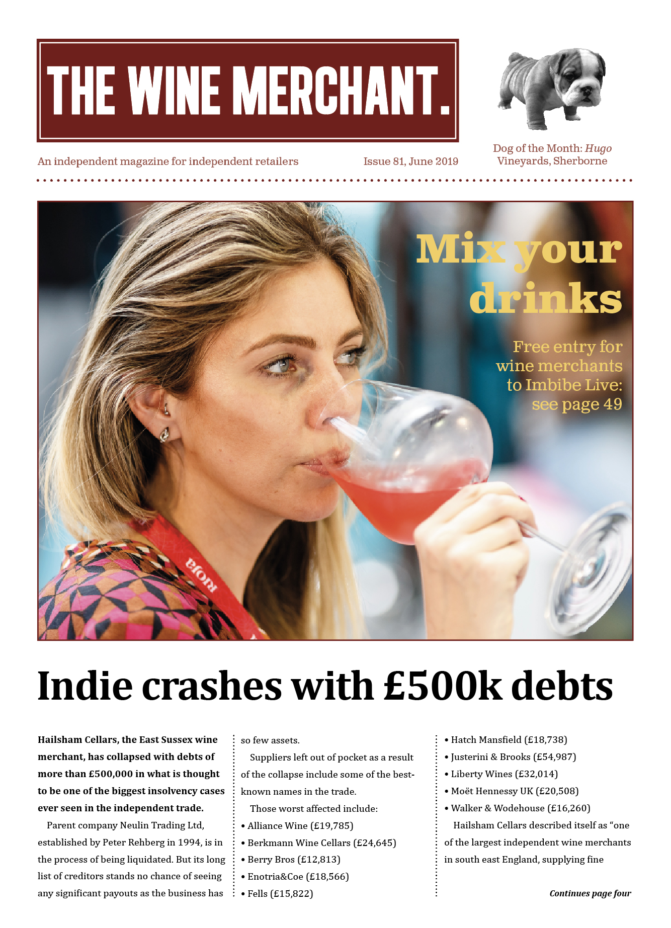 The Wine Merchant June 2019