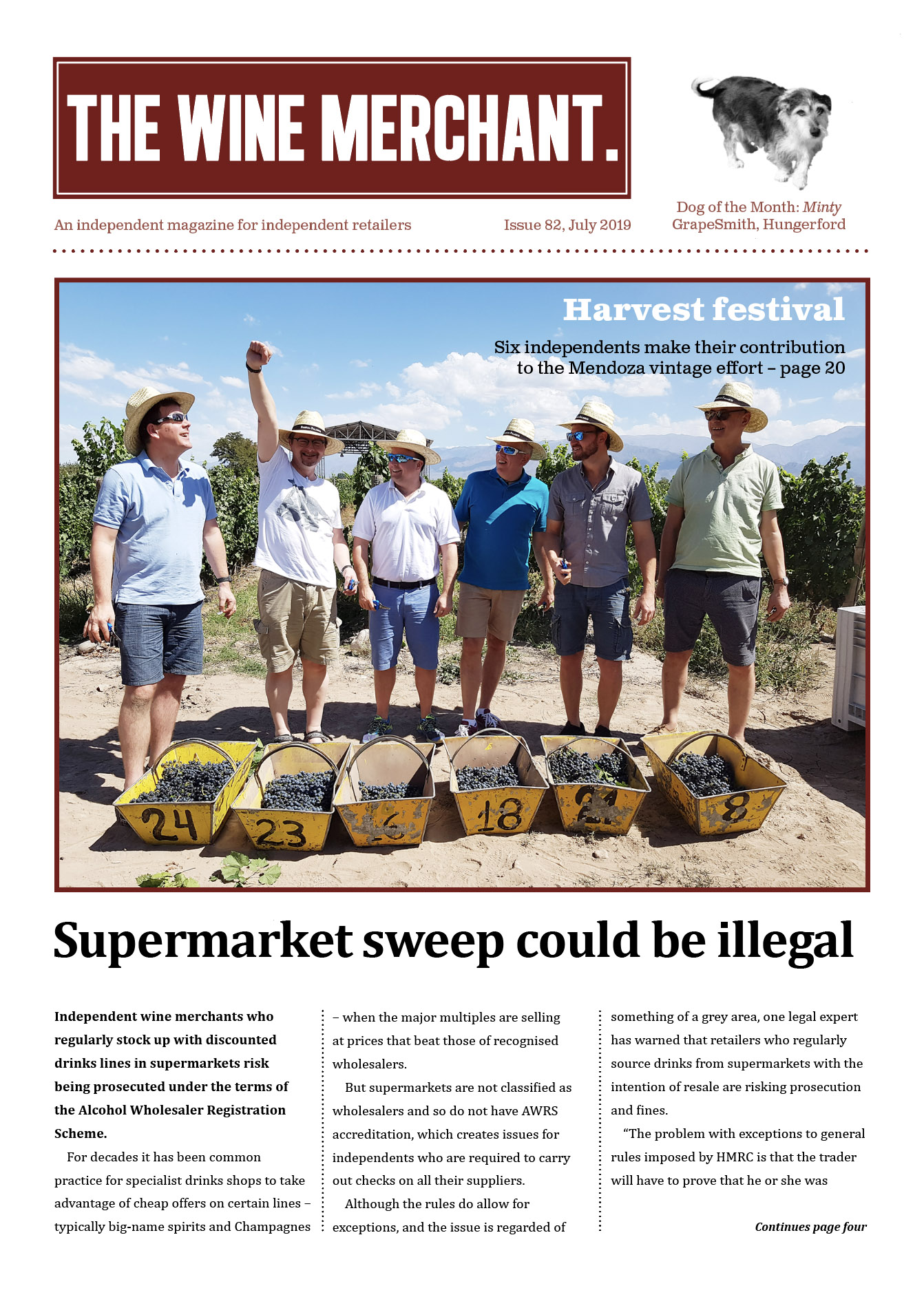 The Wine Merchant July 2019