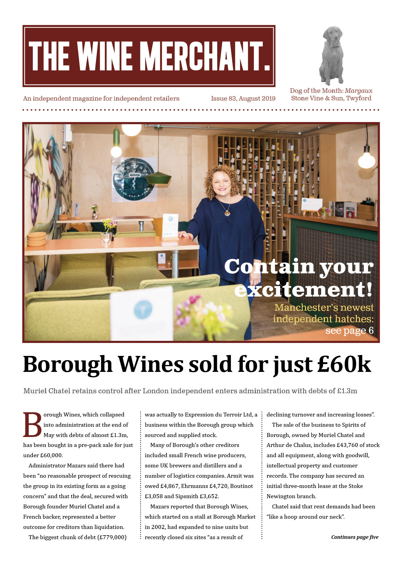The Wine Merchant August 2019