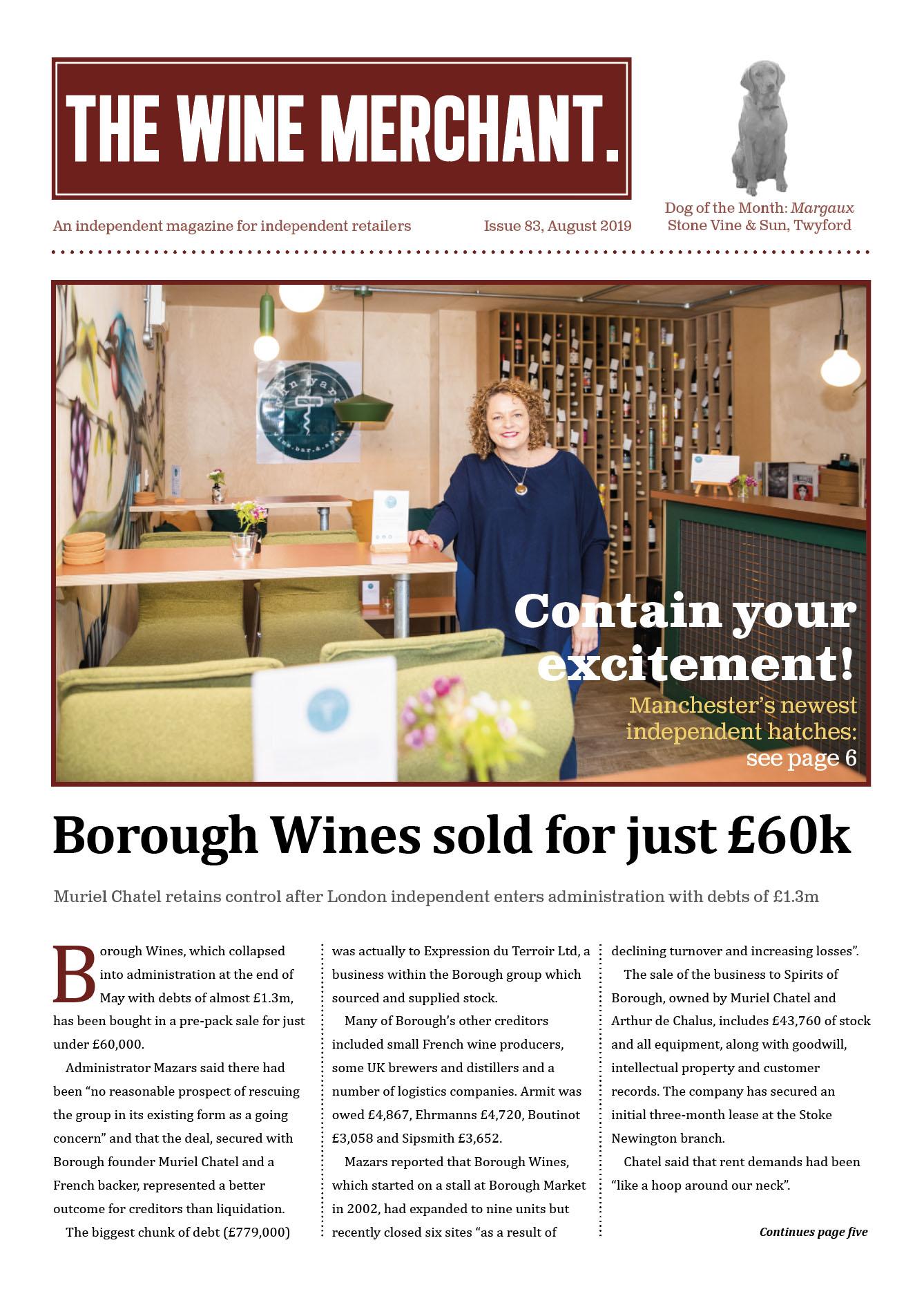 The Wine Merchant August 2019