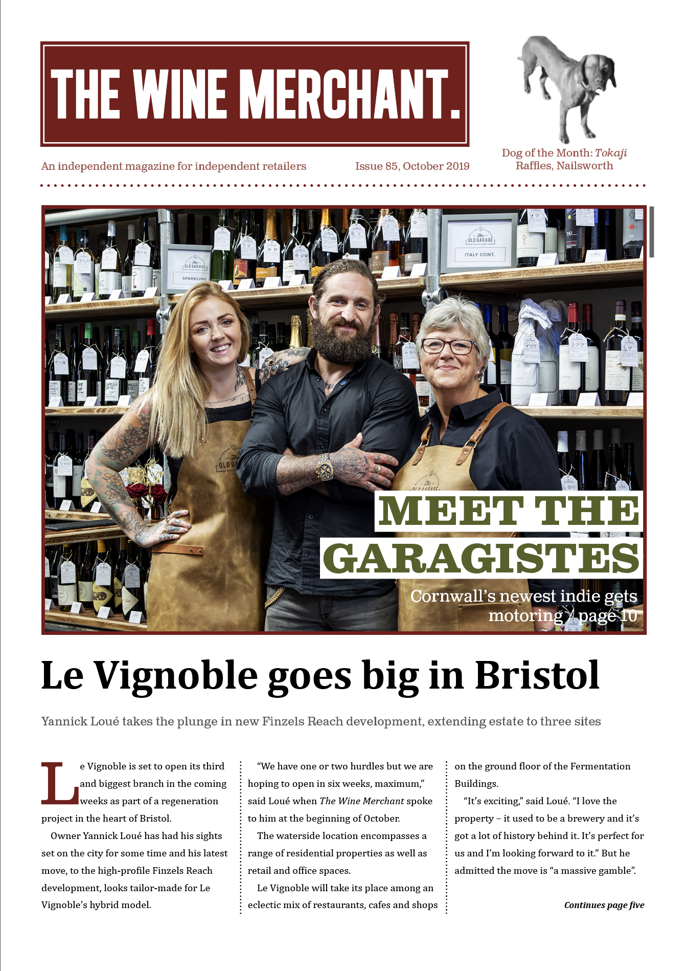 The Wine Merchant October 2019