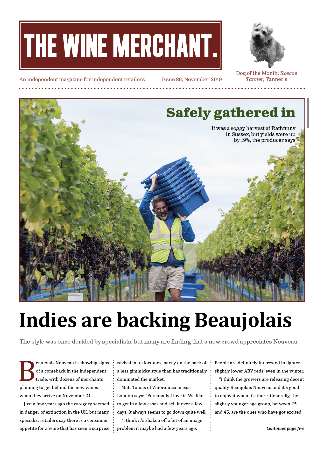 The Wine Merchant November 2019