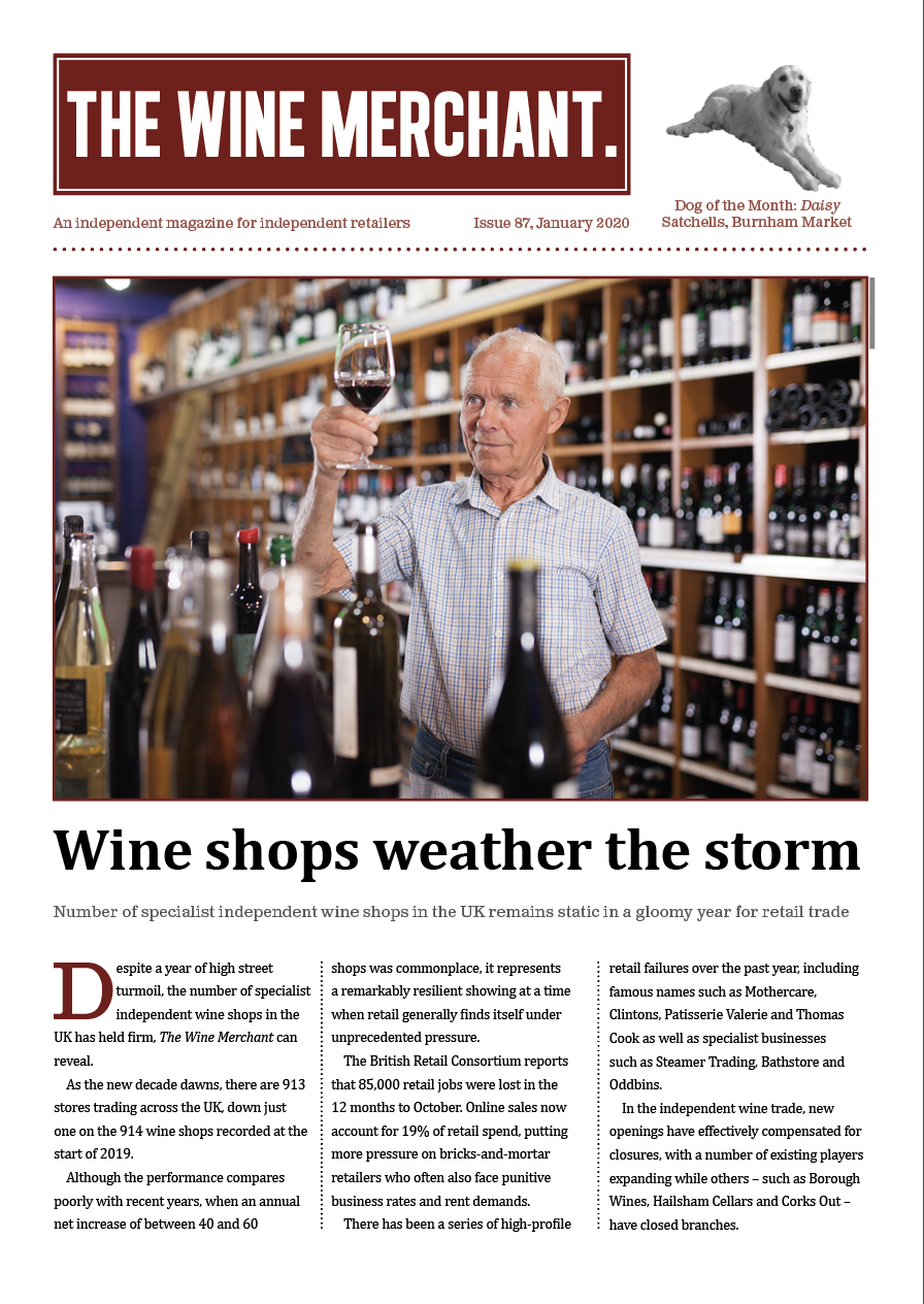 The Wine Merchant January 2020