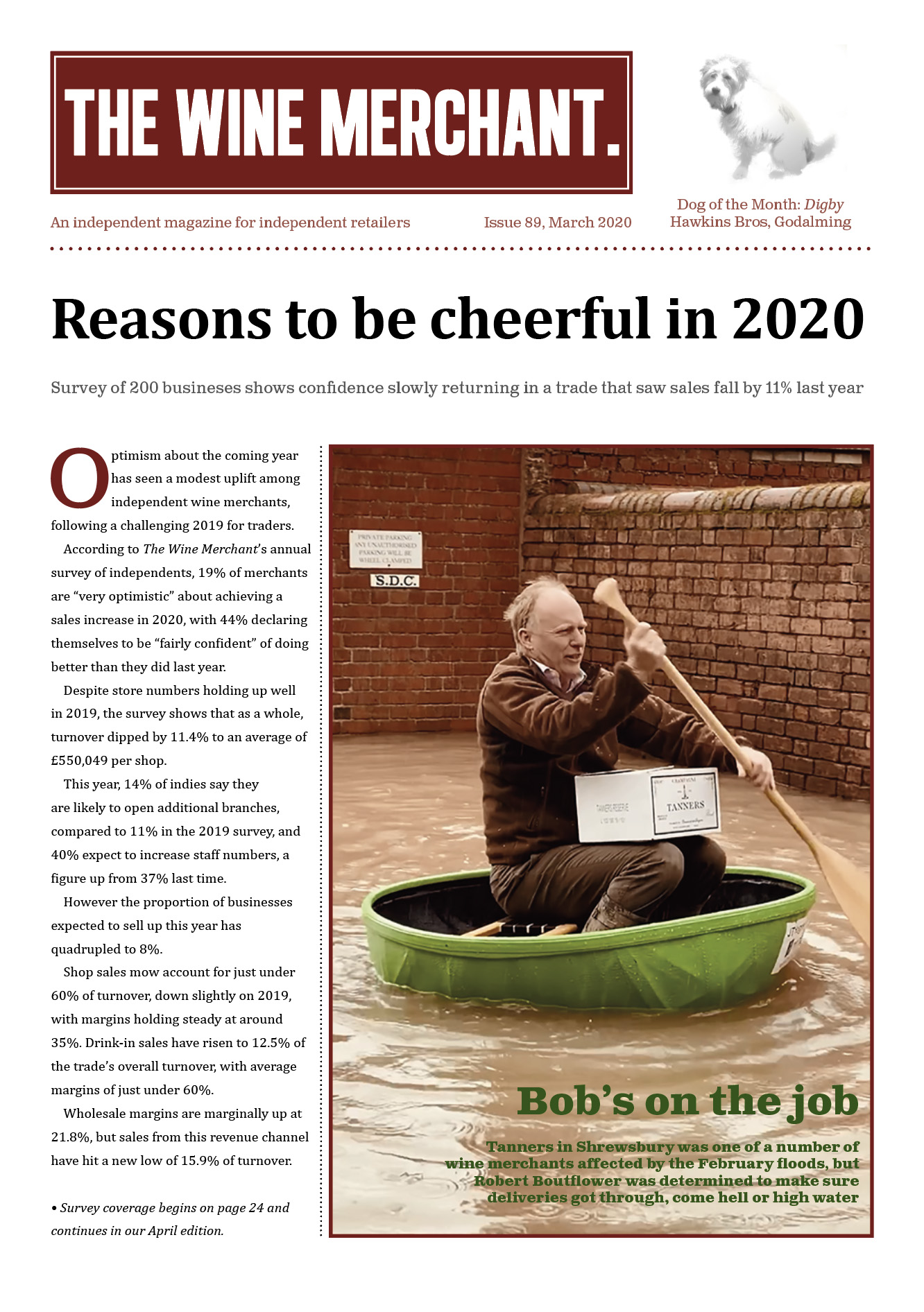 The Wine Merchant March 2020
