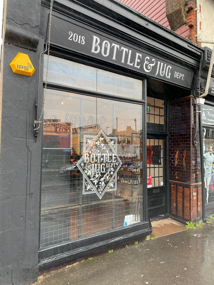 bottle and jug exterior