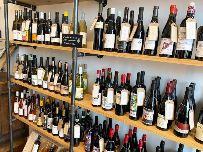 bottle and jug shelves