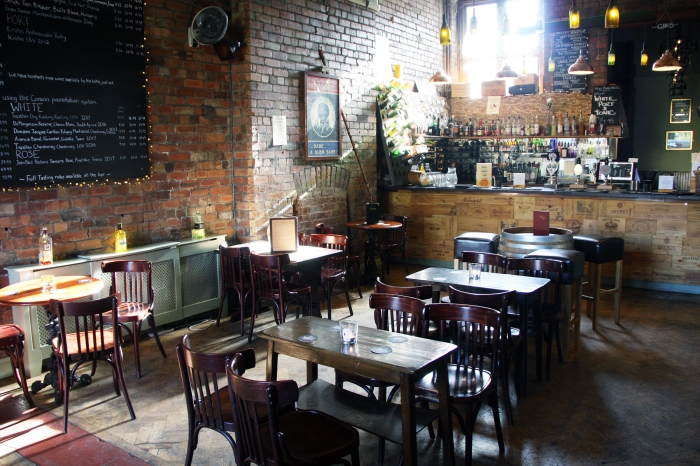 martinez wine bar interior