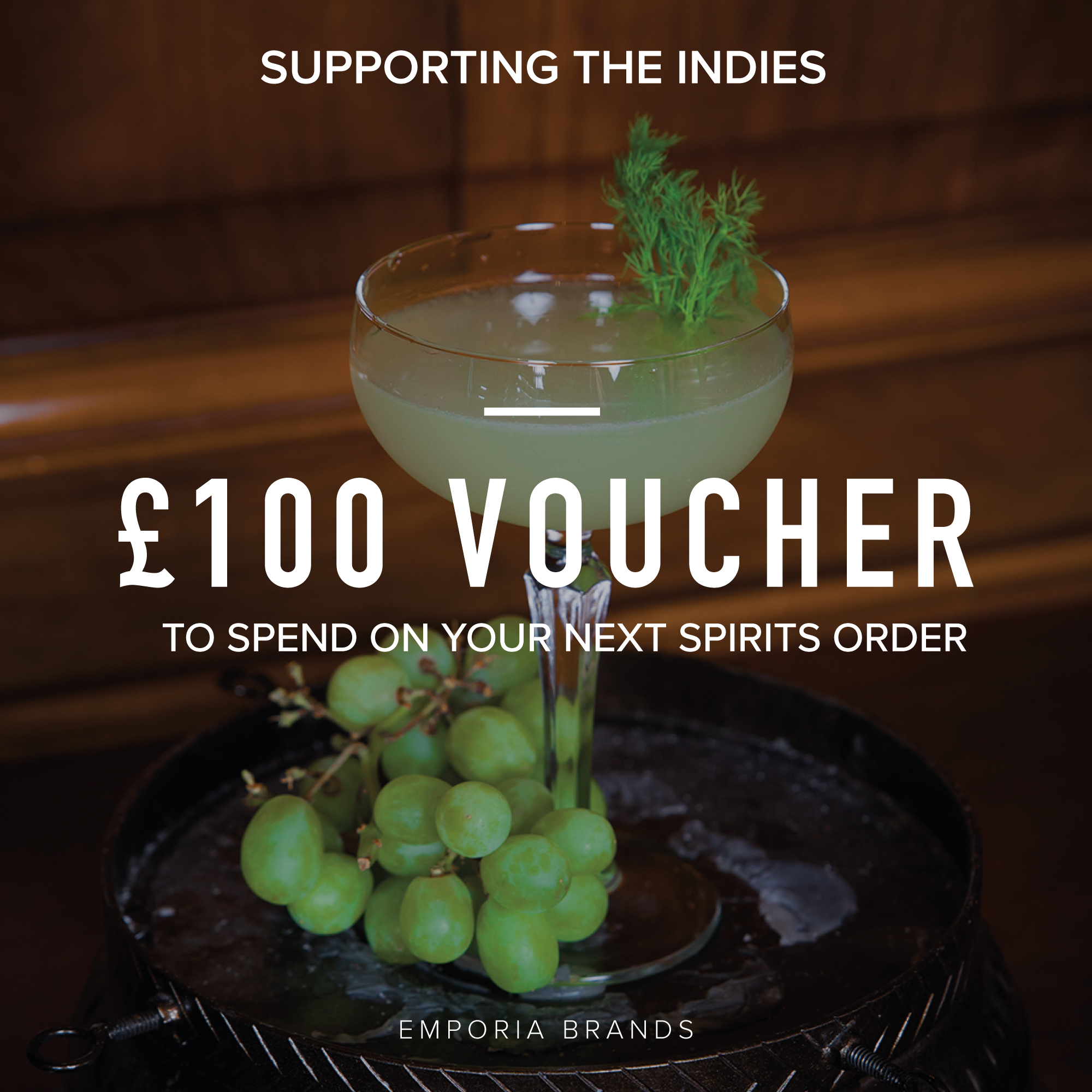 Emporia Brands £100 voucher for indies